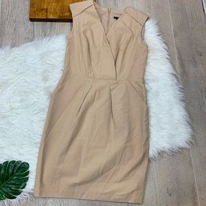 Ann Taylor | Tan Dress | 0443